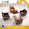 Modern Steel Metal Base Fabric Upholstery Leisure Chair (HX-S319)