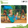 High Quality Kindergarten Plastic Slide and Swing