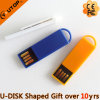 Multicolor Plastic Clamp Reminder USB Pen Drive as Gift (YT-3236-02)