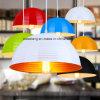 Modern Simple Indoor Aluminium Hanging Pendant Lamp in Restaurant