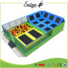 Galvainzed Best Design Indoor Trampoline Park for Sale