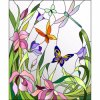 ODM and OEM Crafts Patterns Great Stained Glass Mural