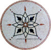 Customized Mosaic Flower Round Pattern Ma-Jl803y