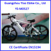Magnesium Mountain Electric Bike with Hidden Frame Battery