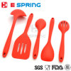 a Set of Silicone Kitchen Utensils for Cooking