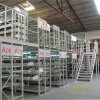 Two Levels Mezzanine System with Steel Grate Flooring