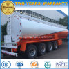 4 Axles Customized 50000 to 60000 L Fuel Tank Semi Trailer for Export