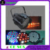 54X3w Indoor Theatre Stage LED PAR 64 DMX Lighting