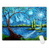 600*450*3mm Village Rubber Gaming Mouse Pad Mat for PC Laptop Computer L Size