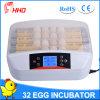 Hhdsmall 32 Automatic Egg Turning Egg Candler Chicken Egg Incubator
