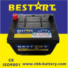 USA Standard SMF Car Battery 12V 60ah Starting Battery Bci-35