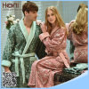China Wholesale 100% Cotton Jacquard Couple Bathrobe