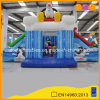 Penguin Inflatable Jumper Amusement Park Fun Sledding Inflatable Combo Bouncer with Double Mini Slide (AQ01441)