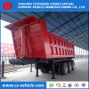 3 Axle 40tons Rear Self Tipping Dump Semi Trailer Tipper Trailer