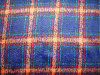Loop Colourful Check Woolen Fabric