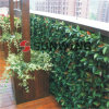 Plastic Synthetic Hedge Plastic Orange Leaves Balcony Decoration Artificial Fence