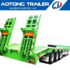 Mombasa Port 2-4 Axles 40-80ton Low Bed Tractor Semi Trailer