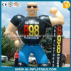 Custom Made Advertising Inflatable Muscle Man Model, Inflatable Figure Cartoon for Sale