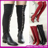 European Latest Design Fashion Long Boots Sexy High Heel Shoes Woman Boots 2014 (ASD03)
