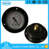 60mm Back Mounting Vacuum Pressure Gauge with Front Flange