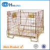 Warehouse Foldable Stacking Storage Wire Mesh Container