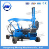 Installing Highway Hydraulic Guardrail Piling Machine