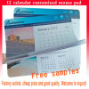 Calendar Mouse Pad with 12 Pages for Advertising Products