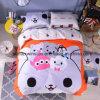 100% Cotton Printed Duvet Cover Set, 4PCS Per Set