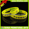 Custom Promotion Silicone Bracelet for Enterprise Publicity (TH-band058)