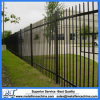 Steel Tubular Fencing Panel Double Rail Spear Top with Ring