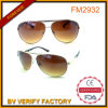 Brown Lens Cockpit Pilot Metal Sunglasses China OEM Supplier
