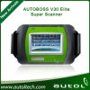 2015 New Arrival 100% Genuine Spx Autoboss Elite Super Scanner Support Multi-Brand Vehicles Autoboss V30 Elite