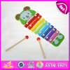 2015 Kids Best Choice Mini Wooden Xylophone Music Notes, 8 Keys Glockenspiel, Top Quality Kids Wooden Music Instrument Set W07c034