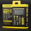 Original Nitecore D4 Intellicharger I2/I4/D4 Battery Digi Charger for Li-ion /Ni-MH Batteries