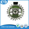 Hot Sale Die Cast Black Finsh Spinning Marathon Medal