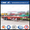 High Quaility 2axle Flatbed Trailer with Competitive Price