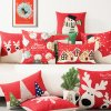 Home Decorative Sofa Cushions for Christmas