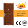 Main Steel Iron Door with Copper Painting (SC-S012)