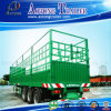 China Manufacture Aotong Brand 3 Axles Cargo Fence Semi Trailer