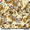Tsautop Hydrographic Film Camouflage Pattern Width 0.5 Meter &Tsmh434-1