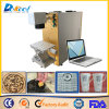 20W 100*100mm 200*200mm Fiber Laser Marking Machine Wood/Cup/Sign