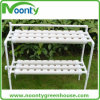 Greenhouse Hydroponics Nft System with Single and Double Side for Home and Garden and Indoor and outdoor