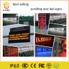 10mm Red Color LED Display Digital Signage for Scrolling Text