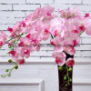 9 Heads Real Touch Silk Phalaenopsis Orchid Flowers Decorative Artificial Flowers