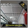 Laser Cut Metal Perforated Aluminum Sheet Metal Panel