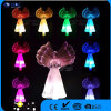 Solar LED Color Angel Clothes Color Lights