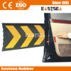 Black & Yellow Color Rubber C Shape Garage Wall Guard (DH-WP-5)