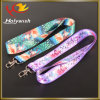 Promotion Custom Whistle Sublimation Logo Lanyard with ID Pouch