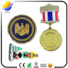 Metal Medal. 3D Logo Metal Sports Medal Engraving Medal with Colorful Ribbon