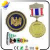 Metal Medal. 3D Logo Metal Sports Medal Engraving Medal with Colorful Ribbon